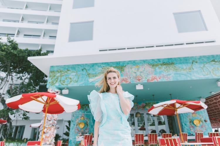 teoria de moda bloguera de moda ruffles fashion colombiana